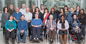 Group photo of Health Quality Ontario's Patient, Family and Public Advisors Council