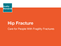 The clinical guide cover for hip fracture