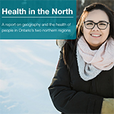 Front cover of health equity report: Health in the North